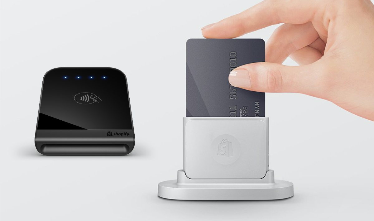 Shopify credit card readers