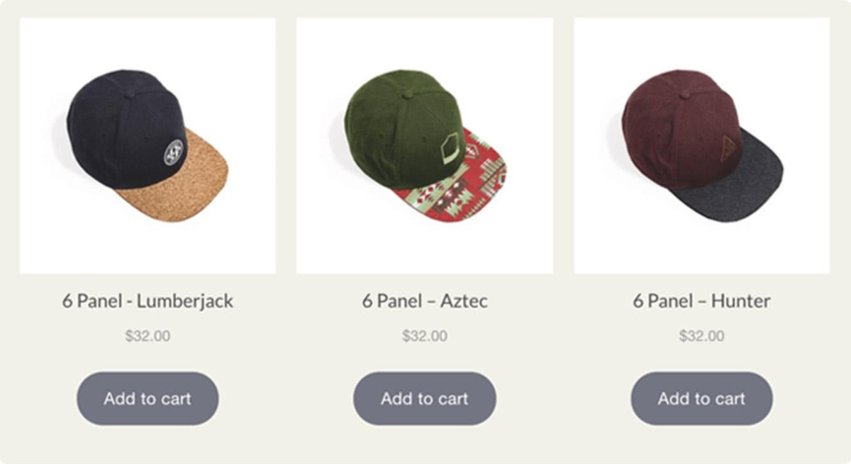 Shopify Lite Buy Button examples