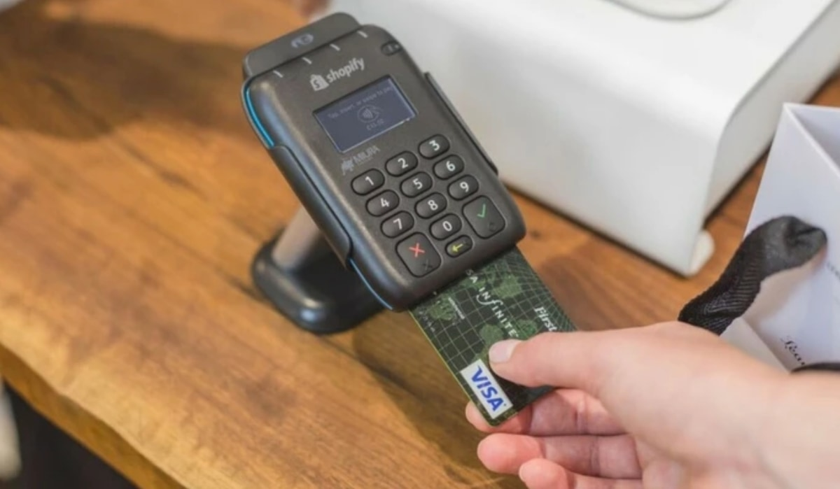 Shopify Tap, Chip and Swipe Reader