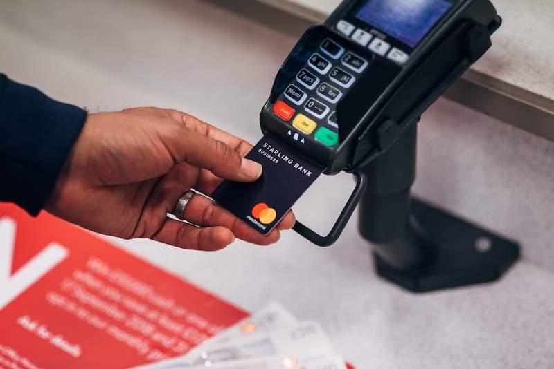 Starling Bank cash deposit