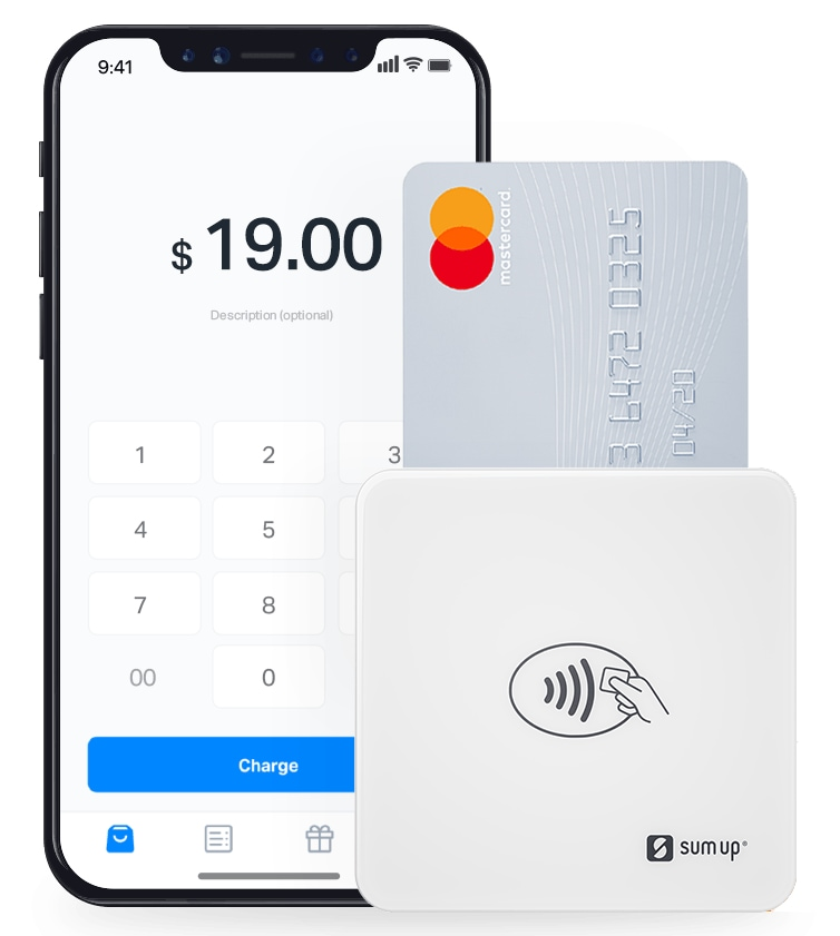 SumUp Card Reader with iPhone