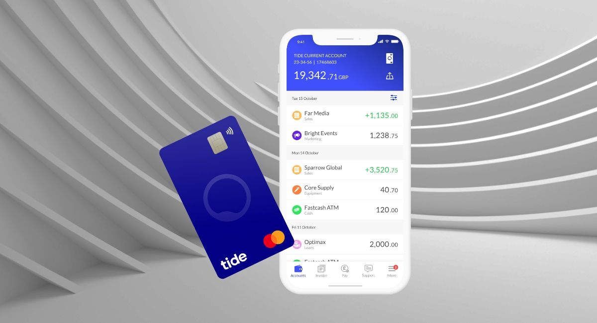 Tide business account review