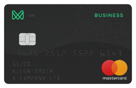 Monese Business Mastercard