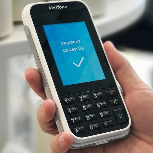 Verifone e285 card reader