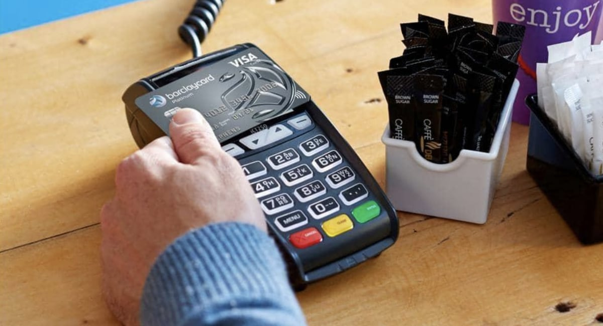 Barclaycard card machine review