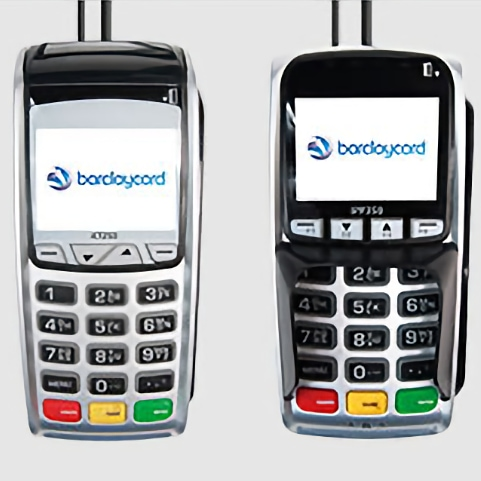 Barclaycard desktop terminal with separate PIN pad