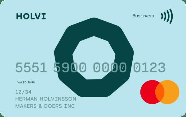 Holvi card