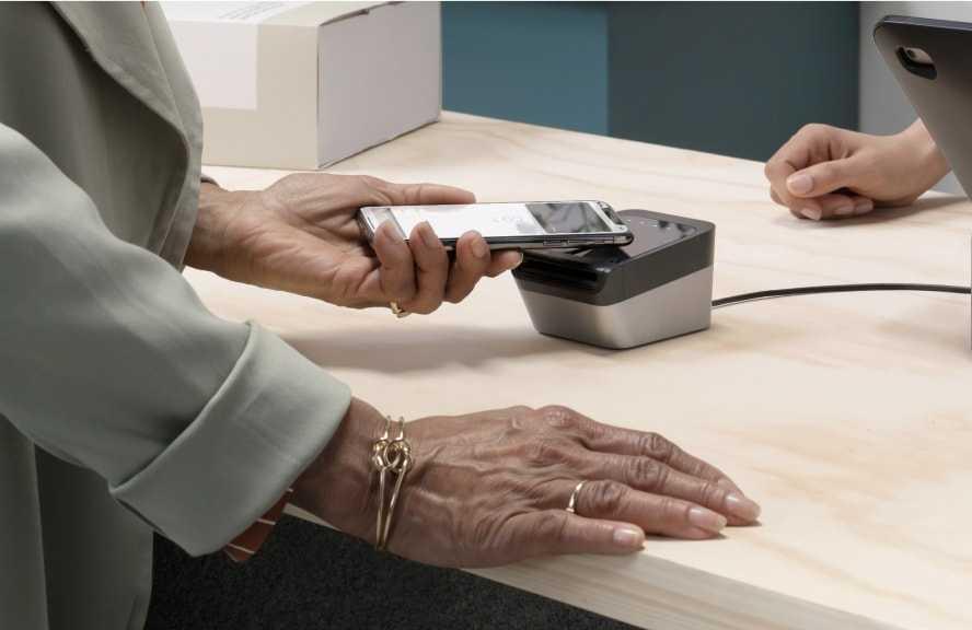 Shopify card reader at checkout