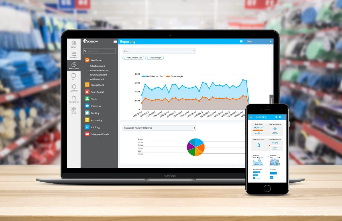 Epos Now sales analytics