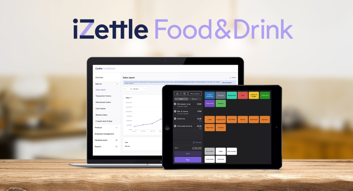 iZettle Food & Drink review