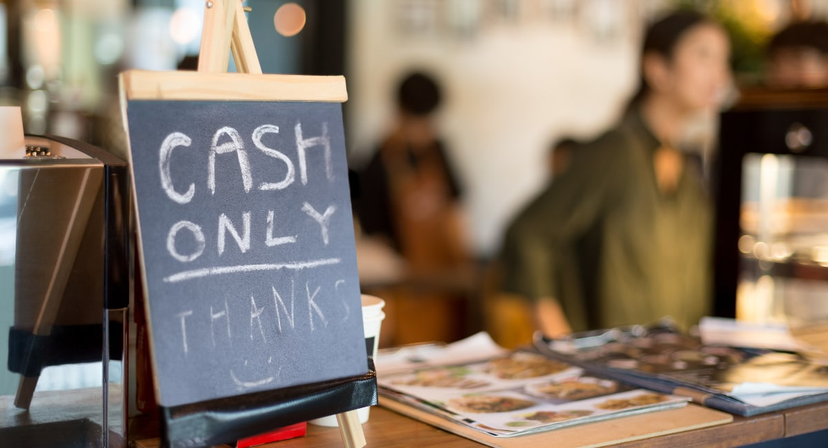 is cash only legal in Australia