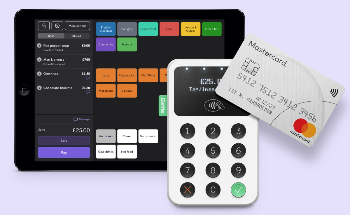 iZettle Food and Drink POS