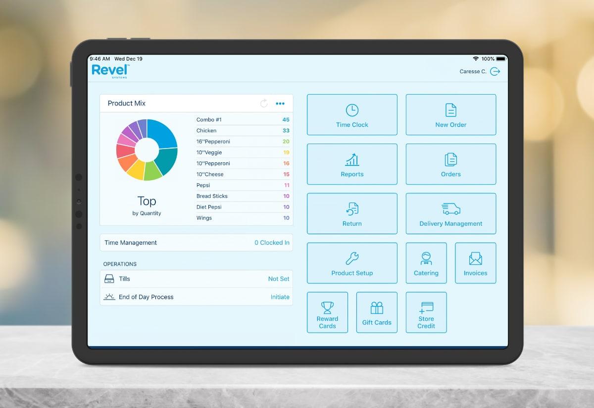 Revel Systems app