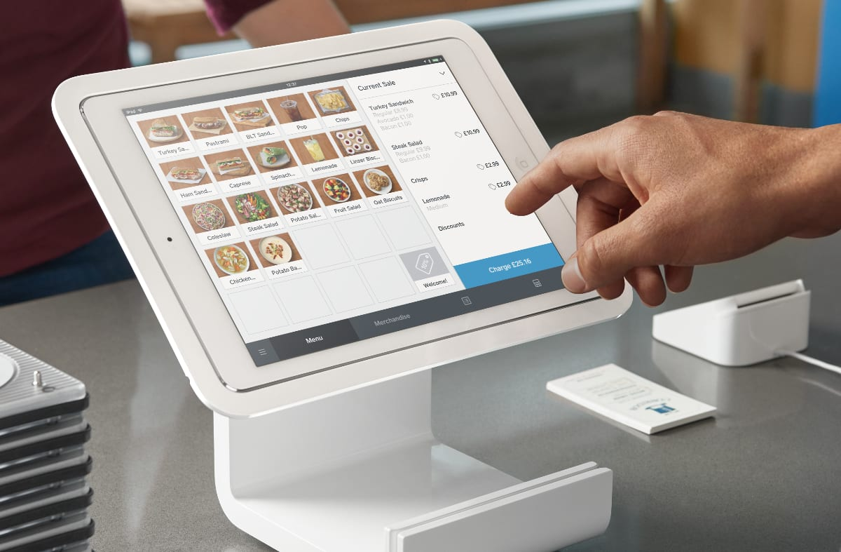 Square Point of Sale app