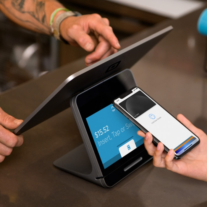 Square Register contactless