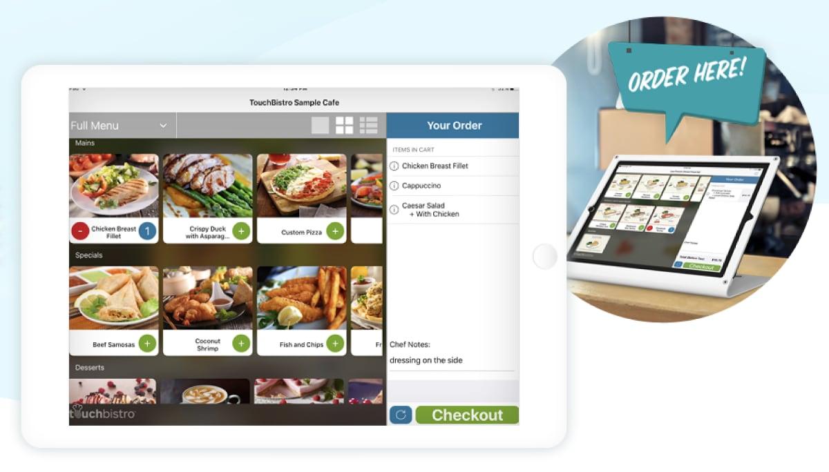 TouchBistro Self Ordering Kiosk