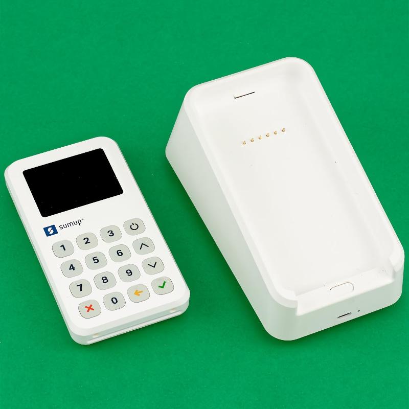 SumUp 3G and printer cradle