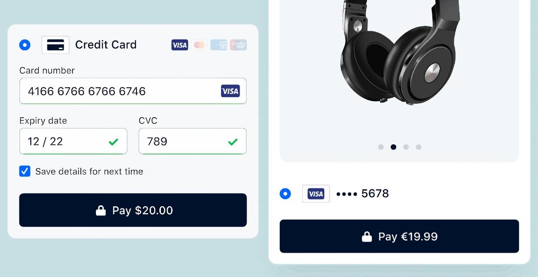 Adyen online checkout examples
