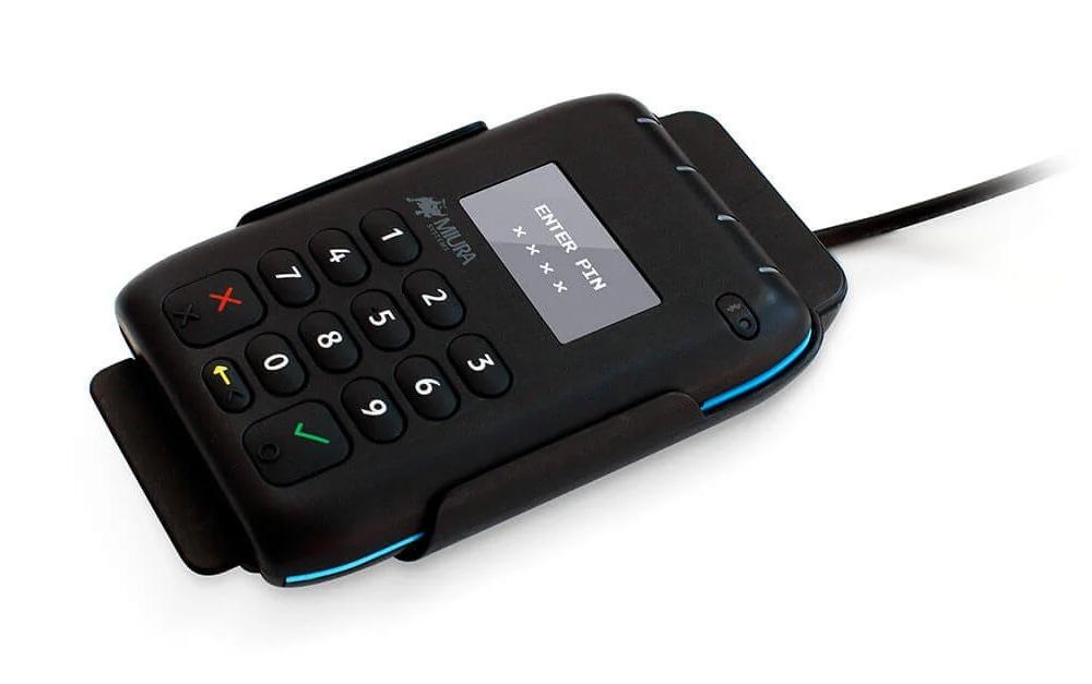 Miura M010 card reader