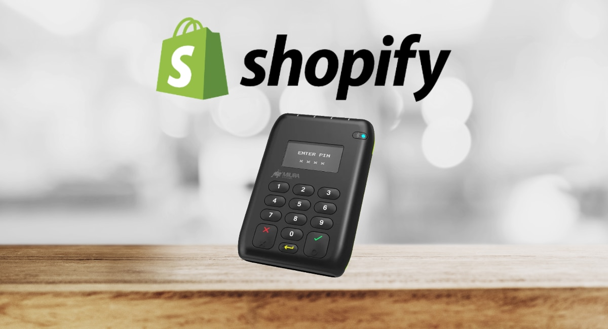 Shopify card reader UK