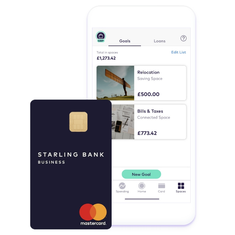Starling Business app account
