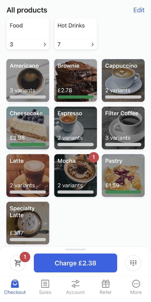 SumUp App checkout
