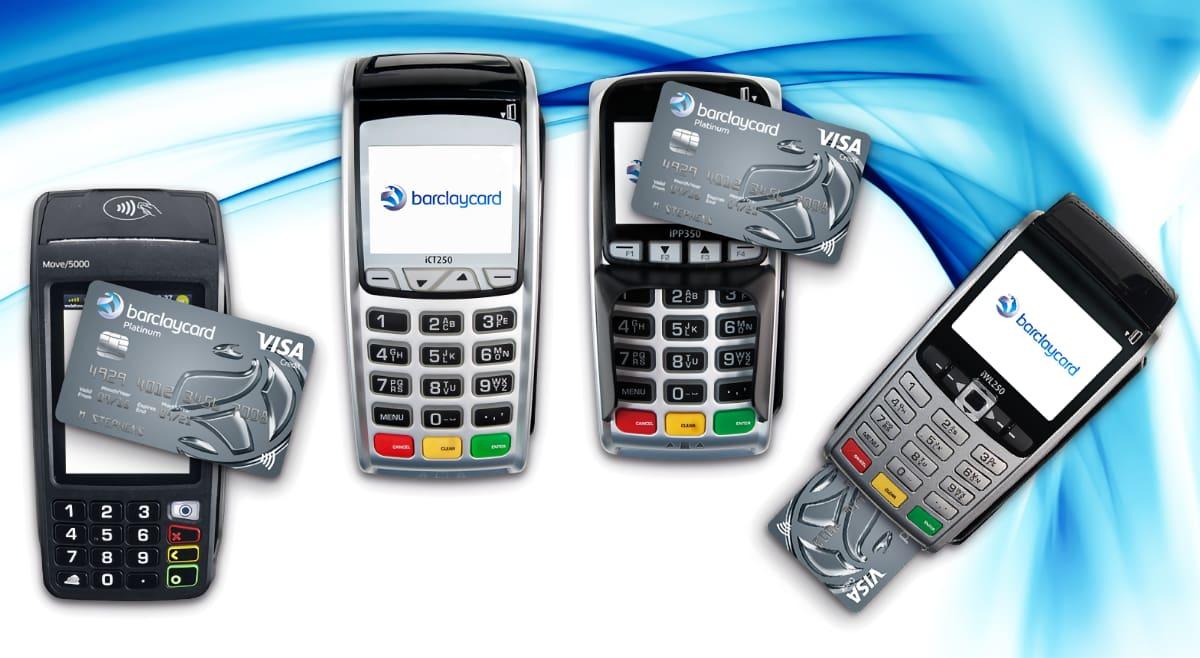 Barclaycard card machines