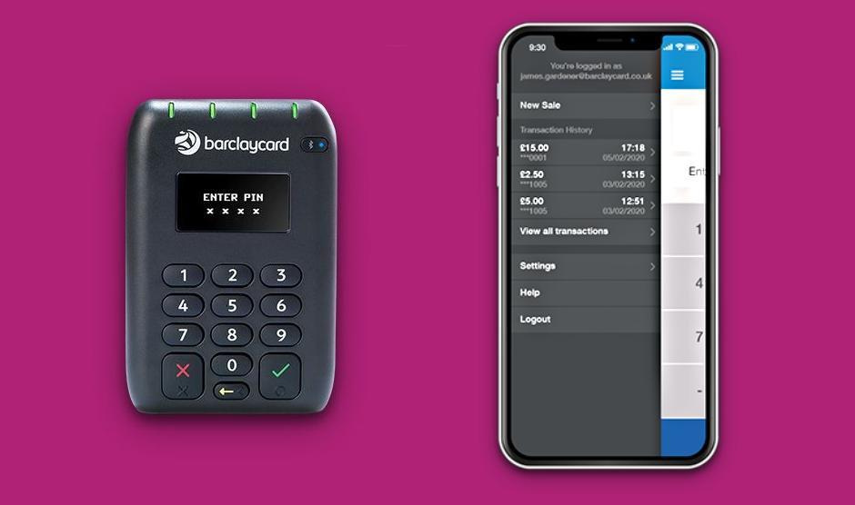 Barclaycard card reader app