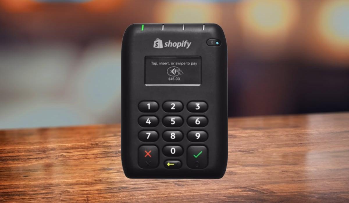 Shopify Tap Chip & Swipe Reader