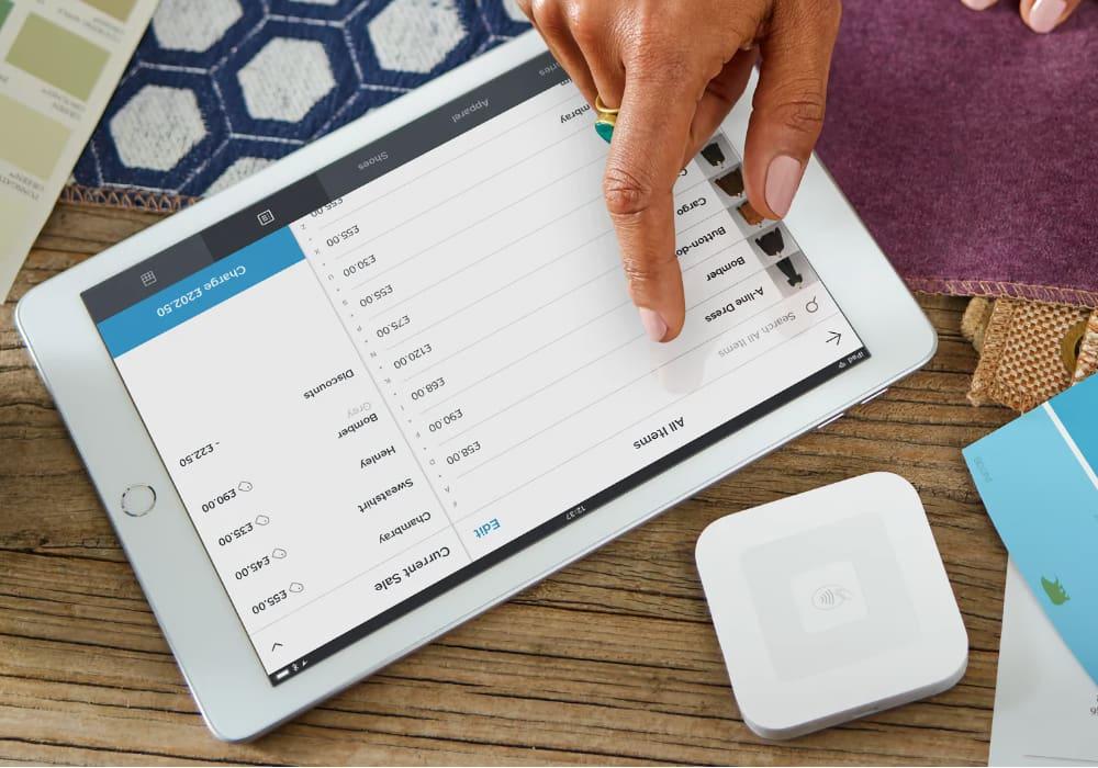Square Reader iPad