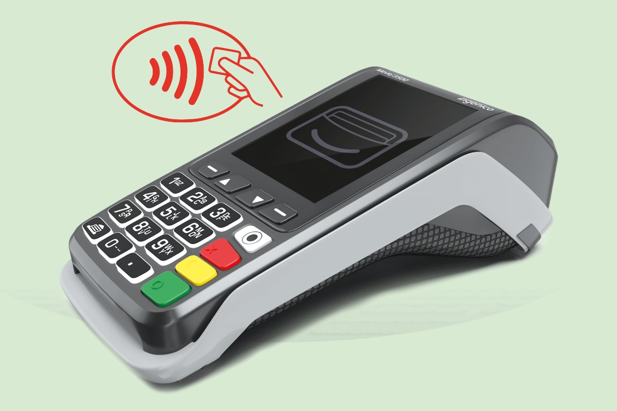 Takepayments contactless card machine