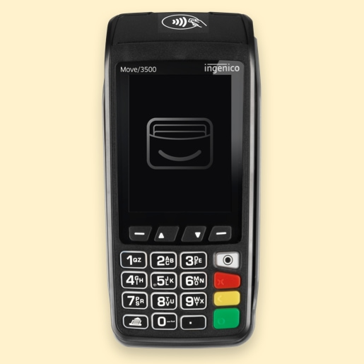 Takepayments mobile machine