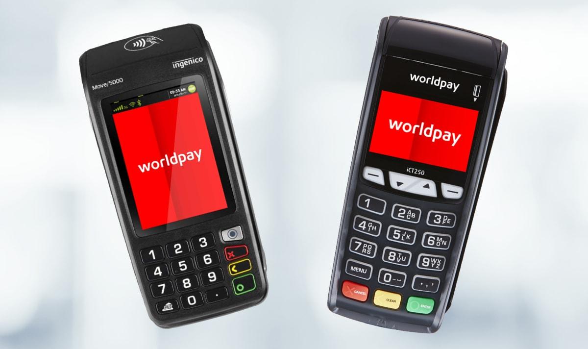 Worldpay card machines