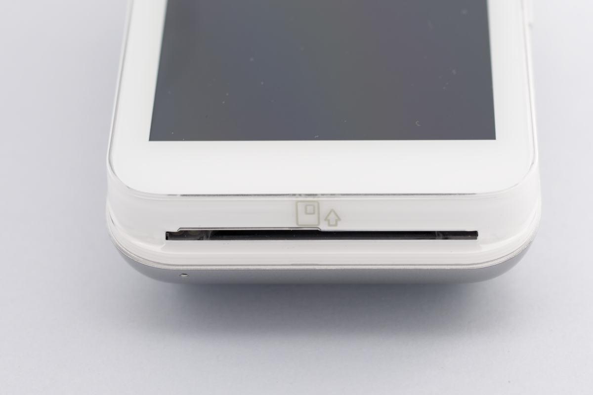 PAX A920 chip slot