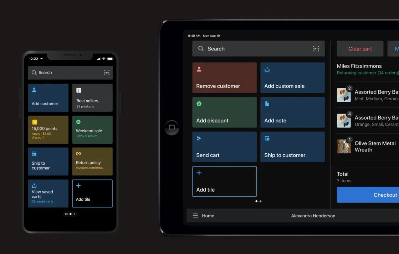 Shopify POS app