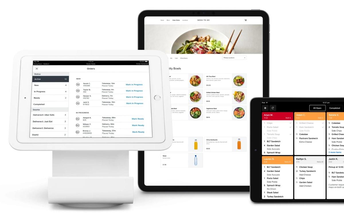 Square Restaurants online ordering