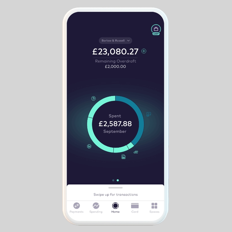 Starling Business account app