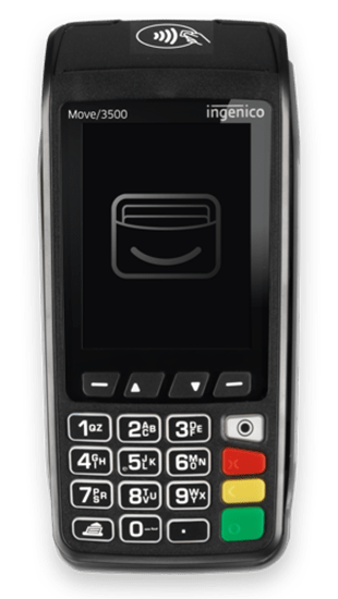 Takepayments Move 3500 card machine
