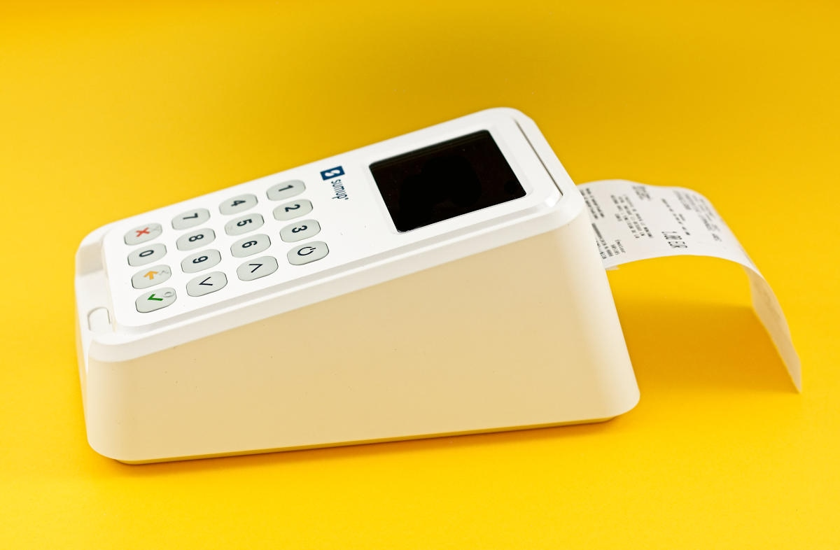 SumUp 3G card reader and printer