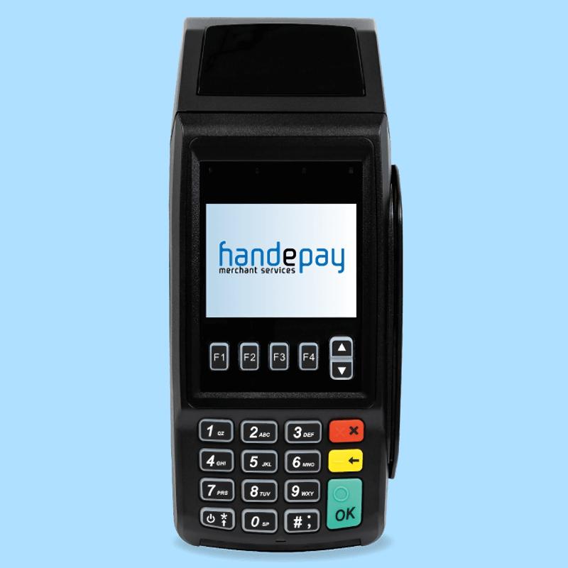 Handepay countertop machine
