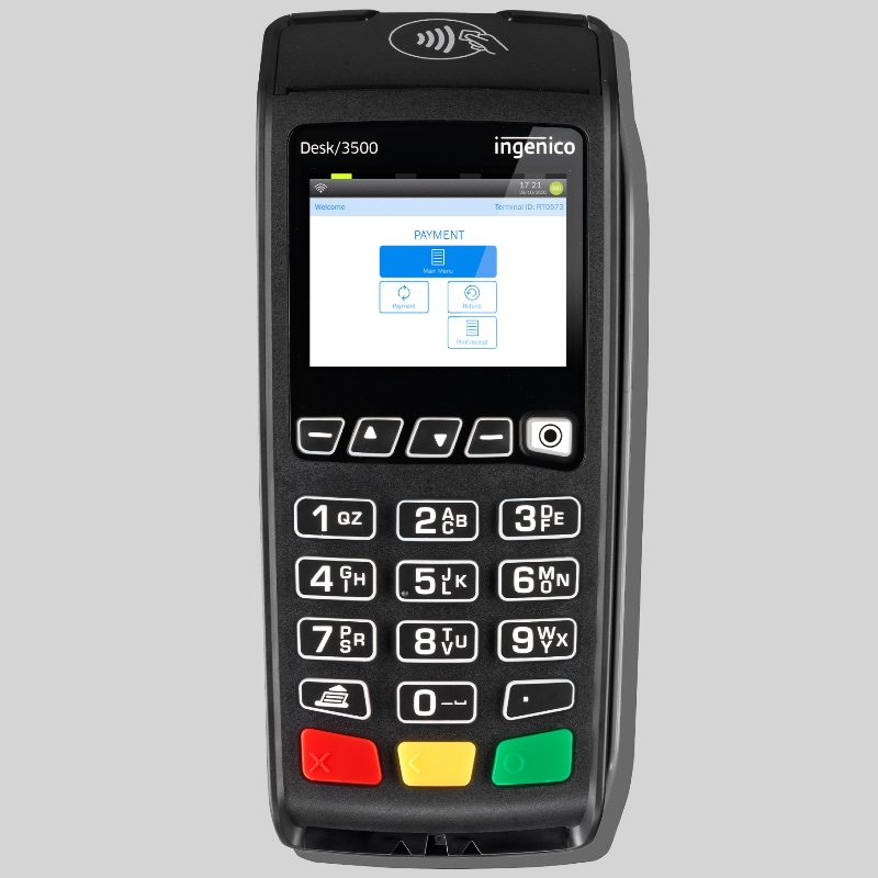 NatWest Tyl card machine for countertop